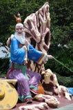 Jiang Tai Gong statue at Haw Par Villa in Singapore Royalty Free Stock Images