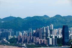 Jiangbei District, Chongqing Yuzhong district Southbank three Group F Stock Image