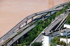 Jiangbei District, Chongqing Yuzhong district Southbank three Group F Royalty Free Stock Image