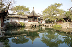 jiangnan ύδωρ της Κίνας Στοκ φωτογραφία με δικαίωμα ελεύθερης χρήσης