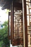 Jiangnan строя Windows стоковое изображение rf