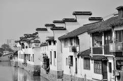 Jiangnan oude woningen Royalty-vrije Stock Foto