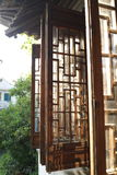 Jiangnan que construye Windows imagen de archivo libre de regalías