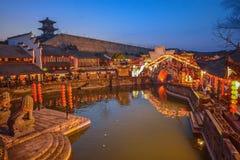 Jiangnan-Wasser-Dorf China Stockfoto