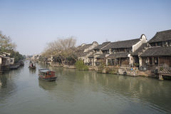 Jiangnan Water Village Scenery Stock Image