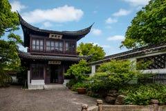 Jiangsu Huishan envía arquitectura del jardín de Chang Park Imagen de archivo