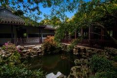 Jiangsu Huishan envía arquitectura del jardín de Chang Park Imagenes de archivo