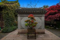 Jiangsu Huishan envía arquitectura del jardín de Chang Park Imagen de archivo libre de regalías