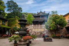 Jiangsu Huishan Huishan Temple royalty free stock photography