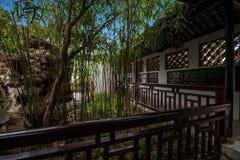 Jiangsu Huishan send Chang Park garden architecture royalty free stock images