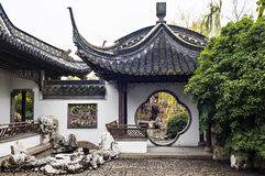Jiangsu Slender West Lake Garden Stock Images