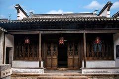 Jiangsu Wuxi Huishan miasteczko Zdjęcie Royalty Free