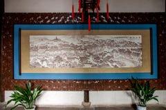 Jiangsu Wuxi Huishan stad Arkivfoto