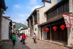 Jiangsu Wuxi Huishan stad Royaltyfri Bild