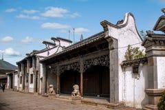 Jiangsu Wuxi Huishan stad Arkivfoton