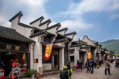 Jiangsu Wuxi Huishan stad Arkivbilder