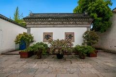 Jiangsu Wuxi Huishan stad Arkivbild