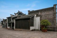 Jiangsu Wuxi Huishan stad Royaltyfri Fotografi