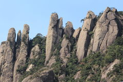 Jiangxi China Shangrao Mount Sanqingshan Royalty Free Stock Photos