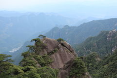 Jiangxi China Shangrao Mount Sanqingshan Stock Photo