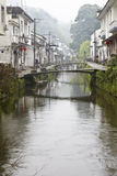 Jiangxi, china: small village in wuyuan Stock Photos