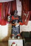 Jiangxi, Porzellan: Statue des Unterweltrichters Lizenzfreie Stockfotos