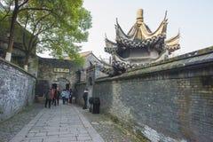 Jiangxi promu sceny Chiński miasteczko Jiangsu obrazy royalty free