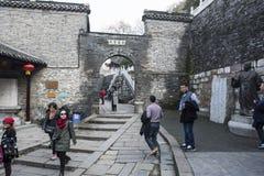 Jiangxi promu sceny Chiński miasteczko Jiangsu obraz royalty free