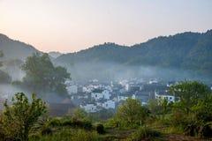 Jiangxi Wuyuan Shicheng byar Royaltyfri Fotografi