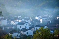 Jiangxi Wuyuan Shicheng byar Royaltyfria Bilder