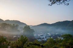Jiangxi Wuyuan Shicheng villages Royalty Free Stock Image
