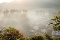 Jiangxi Wuyuan Shicheng villages Royalty Free Stock Photos