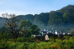 Jiangxi Wuyuan Shicheng villages Royalty Free Stock Photography