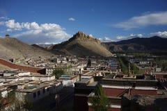 Jiangzi-Grafschaft in Tibet Stockfoto