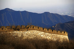 Jiankou Chinesische Mauer Stockfotos