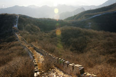Jiankou Great Wall Royalty Free Stock Photos