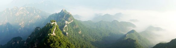 Jiankou Great Wall in Beijing Royalty Free Stock Images