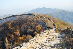 Jiankou Greatwall Royalty Free Stock Photo
