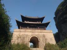 Jianmenpas Royalty-vrije Stock Afbeeldingen