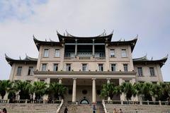 Jiannan Corridoio, università di Xiamen Immagine Stock
