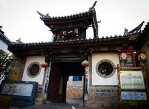 Jianshui Mission Hill houses Stock Photos