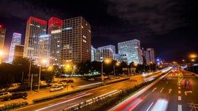 Jianwai SOHO buildings at night,Beijing,China Stock Photography
