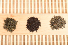 Jiaogulan, black and green tea Royalty Free Stock Image