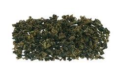 Jiaogulan Chinese green tea. Jiaogulan Chinese green tea isolated on white background Royalty Free Stock Images