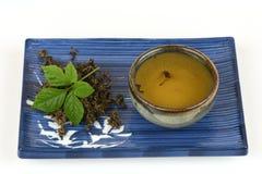 Jiaogulan Chinese name Gynostemma pentaphyllum Thunb Makino Stock Photo