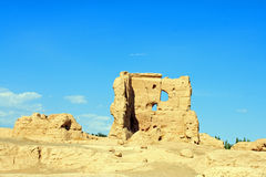 Jiaohe Ruins Royalty Free Stock Photo