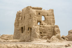 JiaoHe Ruins of Xinjiang Stock Photo