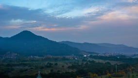 Jiaojiang-Sonnenuntergang Stockbilder