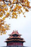 Jiaolou. Corner Tower. Turret. Forbidden City. Gugong stock photos