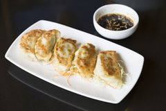 Jiaozi or gyoza, Chinese dumpling Royalty Free Stock Image